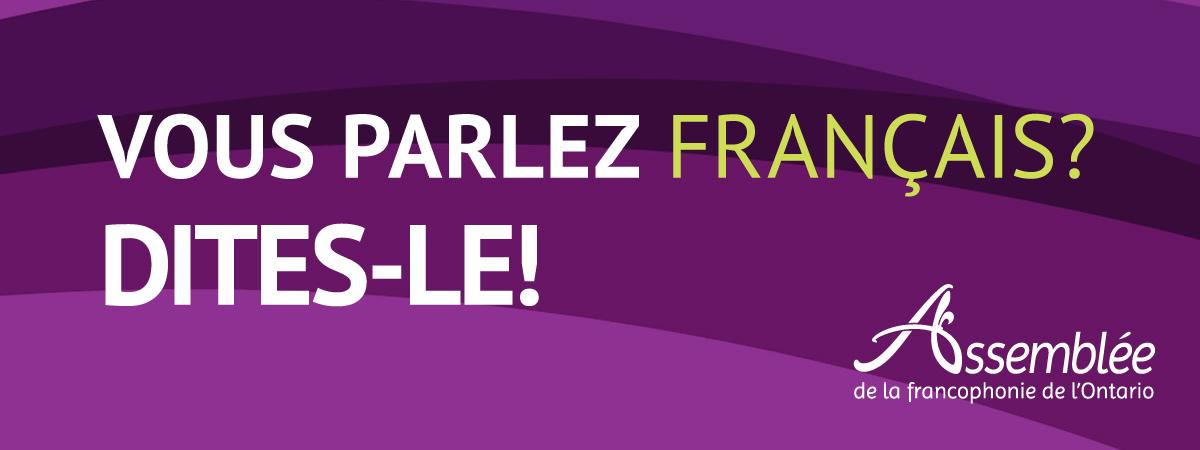 Vous parlez français